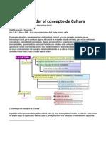 Para Comprender El Concepto de Cultura