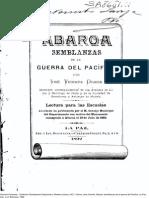 Abaroa Semblanzas de La GdP. JoseV Ochoa.1892