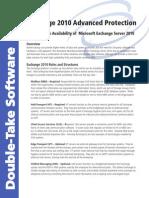 Protecting Exchange 2010 Whitepaper