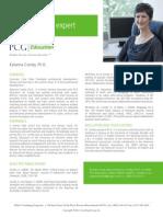 Katanna Conley, Ph.D., PCG Education Subject Matter Expert