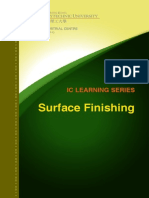 IC Learning Series 2013 - Surface Finishing
