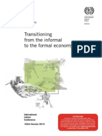ILO Transitioning From the Informal to the Formal Economy