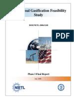 Beluga Coal Gas if Ication Feasibility Study