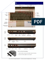 HP 8460p Quick Reference Guide
