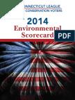 2014 Env Scorecard CT League Conservation Voters
