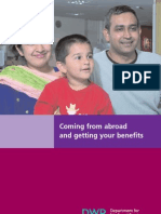 Benefits for Immigrants Booklet