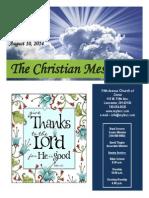 August 10 Newsletter
