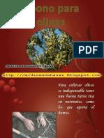 Abono Para Olivos Abonos Organicos