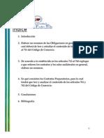 Derecho Mercantil ,Contratos Mercantiles