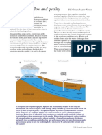 Groundwater Flow and Quality