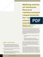 Making Sense of Minimum Flexural Reinforcement Requirements for Reinforced Concrete Members