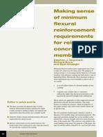 Making Sense of Minimum Flexural Reinforcement Requirements for Reinforced Concrete Members