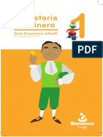 "Guia Financiera Infantil - ""La Historia del Dinero"" (Banesco, Fasciculo 1)"