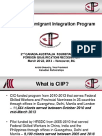 Canadian Immigrant Integration Program