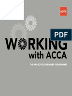 Approved Employers Working With ACCA 2012