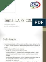 Tema 2 - La Psicologia