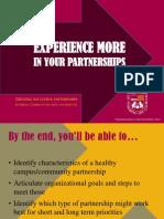 travis partnerships workshop