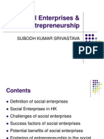 Social Enterprises & Social Entrepreneurship
