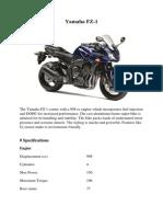 Yamaha FZ1 is best