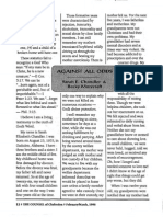 1998 Issue 1 - Against All Odds - Counsel of Chalcedon