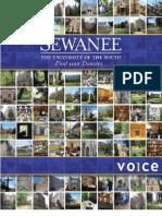 Sewanee Plans Book