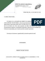 Carta Recomendacion 2