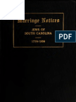 (1917) Jewish Marriage Notices From the Newspaper Press of Charleston, S.C. 1775-1906