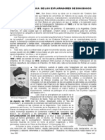 Reseña Historica de Los Exploradores de Don Bosco
