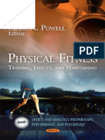 Physical Fitness Training, Effects, And Maintaining
