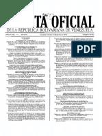 GACETA OFICIAL N° 40.433