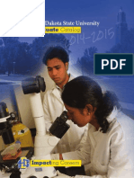 2014-2015 south dakota state univ Graduate+Catalog