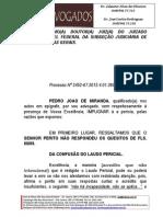 Impugnação a Perícia - Pedro Joao de Miranda