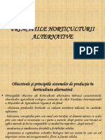 Principiile Horticulturii Alternative
