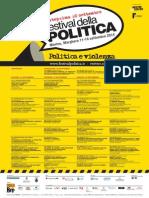Programma Festival della Politica