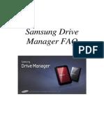 ENG_Samsung Drive Manager FAQ Ver 2.5