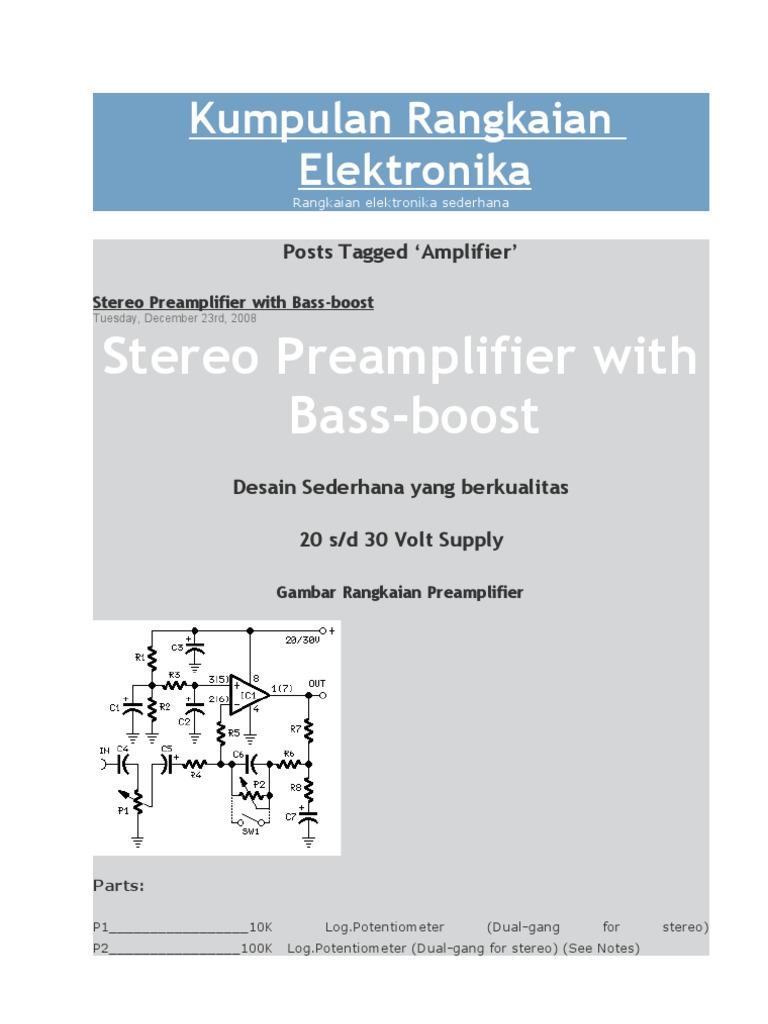 Kumpulan Rangkaian Elektronika Amplifier Components