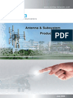 Comba Antenna and Subsystem Product Catalogue v1.0_2009