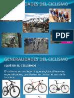 Generalidades Del Ciclismo