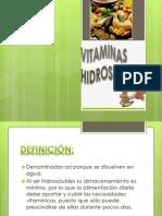 VITAMINAS HIDROSOLUBLES- diapositivas