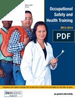 FY14 OSHA Course Catalog