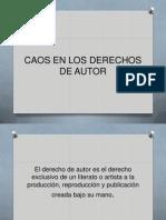 sintesis del derecho de autor