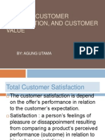 Building Customer Satisfaction and Customer Value