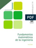 Fundamentos Matematicos de La Ingenieria