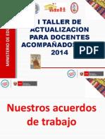 Taller Planificacion Curricular 2014