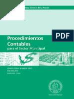 Manual Procedimientos Sector Municipal Diciembre 2010