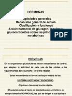 Clase de Hormonas -2011