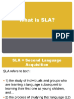 What is SLA