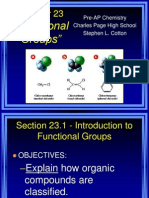 Chapter 23 Functional Groups