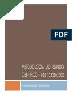 2013 Metodologia Do Estudo Científico - Citação