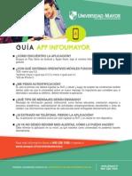 Guía App INFOUMAYOR